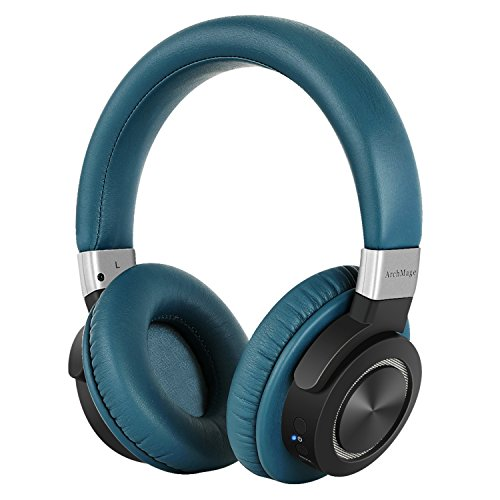 Amazing Clear Sound Bluetooth 4.2 Headphones Over Ear, Wireless With Mic, Low Latency Aptx