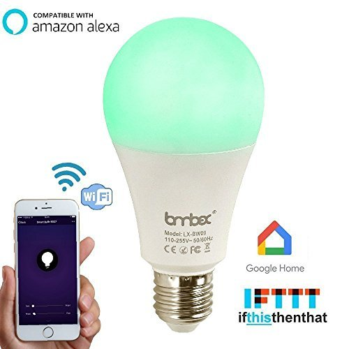 Wifi Smart Led Light Bulb,Compatible With Alexa Google
