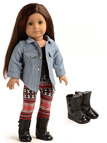 ad049b96234 Doll Clothes 4 Pc. Outfit fit for 18 Inch American Girl Dolls   More ...