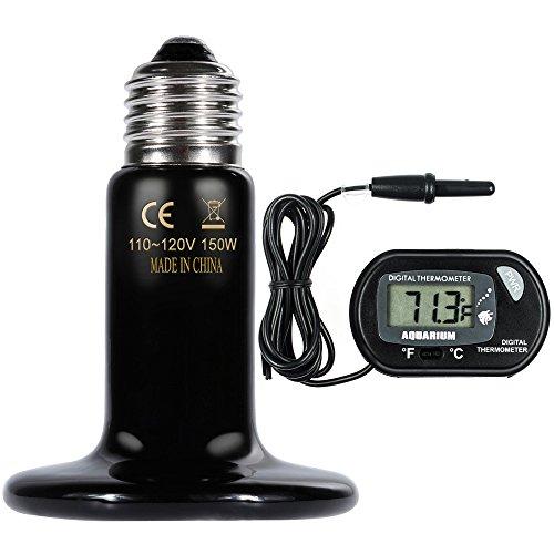 Encompass All 1000w Combined Terrarium Heat Amp Habitat Lighting Temperature Controller For