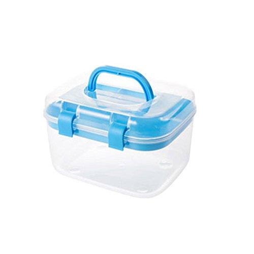 Multi Purpose Mini Clear Plastic Travel Storage Box