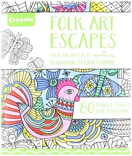 Crayola Patterned Escapes Coloring Book - Noitila