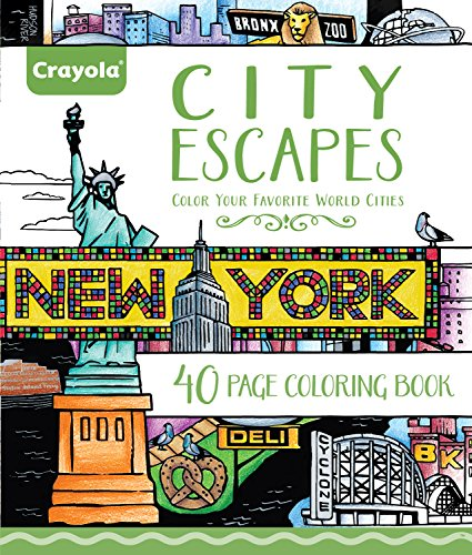 Crayola Patterned Escapes Coloring Book – Noitila