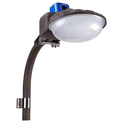 Barn Security Light: LEONLITE 75W LED Barn Light, Daylight 5000K, 8000lm Amazon