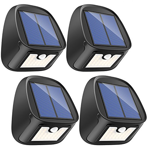 4 Pack Auto On Off Mpow Solar Lights Outdoor Bright 20